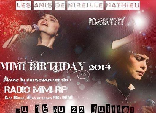 Zum Geburtstag von Mireille Mathieu am 22.07.2014