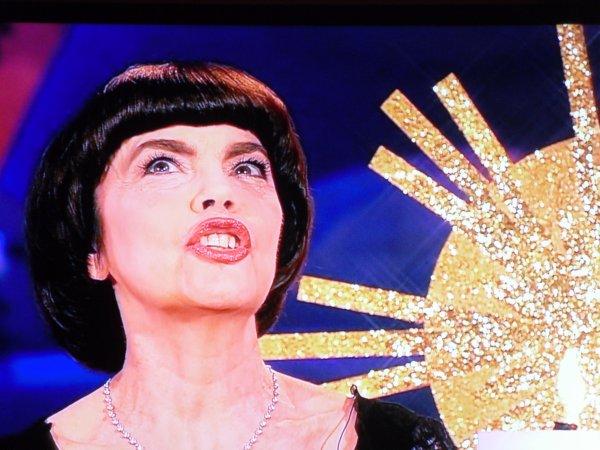 1. Advent / Impressionen Auftritt Mireille Mathieu  Adventsfest der 100000 Lichter