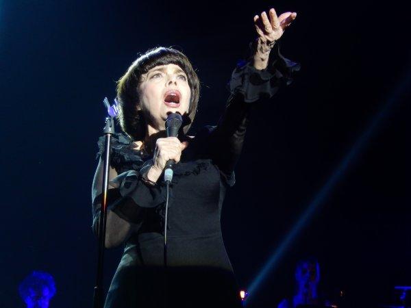 Konzert  Mireille Mathieu in Chemnitz