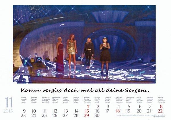 Kalender Mireille  Nov. 2015