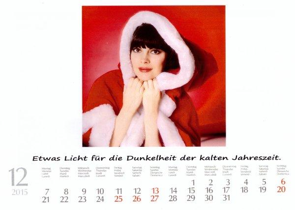 Kalender Mireille    Dezember 2015