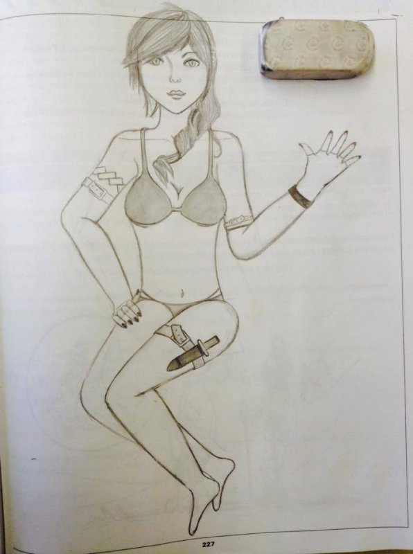 Autre dessin récent