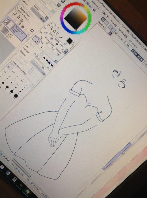 Digital dessin