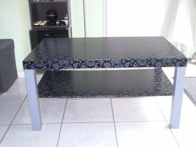 customisation table basse style baroque rock a bloc. Black Bedroom Furniture Sets. Home Design Ideas