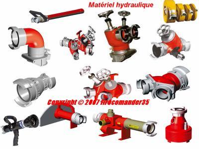 Accessoire hydraulique pompier