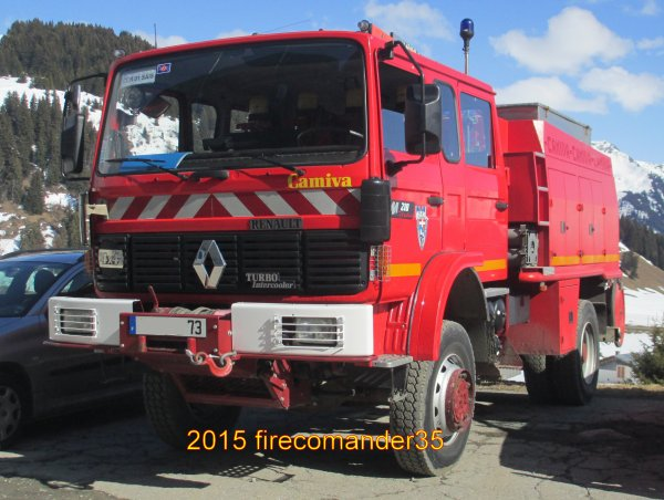 Sapeurs Pompiers de Savois ( CPI Les Saisies )