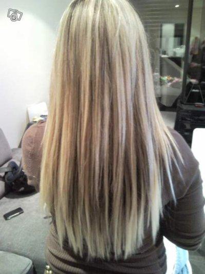 Extensions m ch s blond et chocolat blog de naaylaa - Coiffure meches blondes et chocolat ...