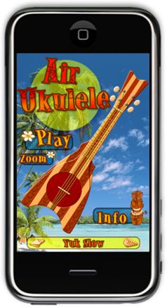 Application iPhone - Air Ukulele