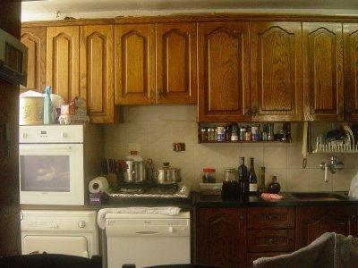 Gros travail pour cette cuisine la renovation de for Renover sa cuisine pas cher