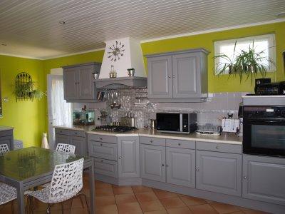 Murs Cuisine Gris Perle. Best Enchanteur Cuisine Carrelage Gris Et ...