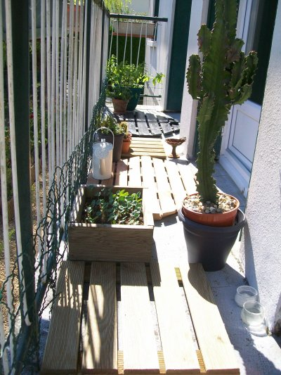 La balcon ambiance zen avec les caillebotis en bois v ro for Ma maison zen