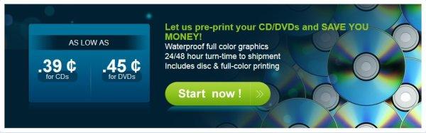 CD Cover Printing