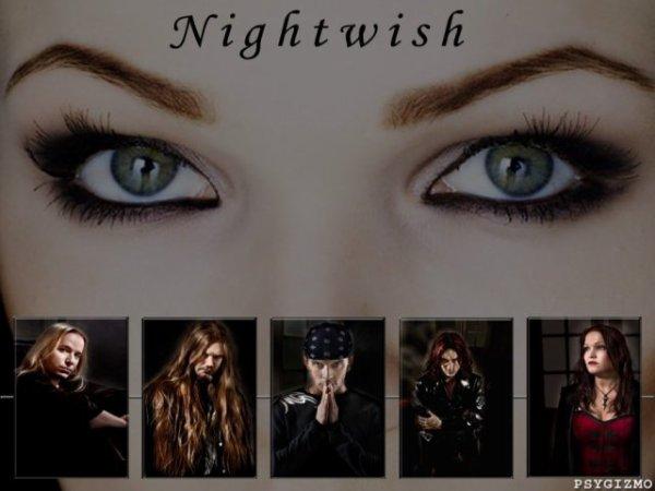 NIGHTWISH and tarja Turunen elle a pas l'air si malheureuse, non ? tout le groupe de nightwish il sont trop fort