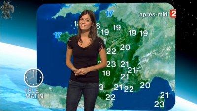 2 me article france 2 une nouvelle presentatrice meteo la semaine prochaine tania young - Meteo france 2 presentatrice ...