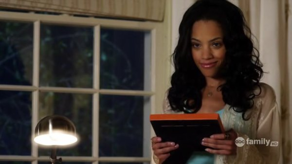 Emily Bennett = The Vampire Diaries  Maya St. Germain = Pretty Little Liars  Ms. Morrell = Teen Wolf Bianca Lawson