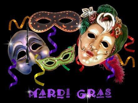C'est Mardi Gras !!!!