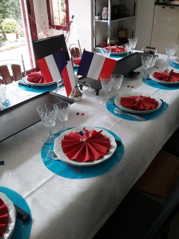 Jeudi 14 juillet 2016, repas rituel entre copains !