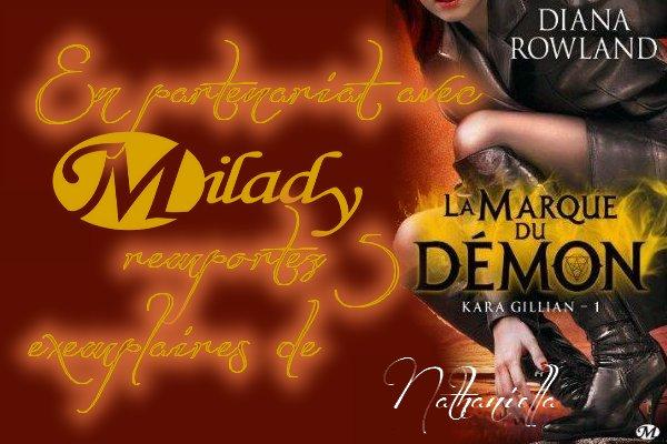 Nouveaux concours en partenariat avec Milady : 5 EXEMPLAIRES a gagner !