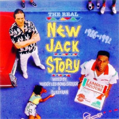 """T�l�chargez gratuitement la MIXTAPE de Huggy Les Bons Skeudis & DJ Kefran (La Meute) """"The Real New Jack Story (1986-1992)"""