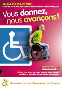 Semaine nationale des personnes handicap�es physiques