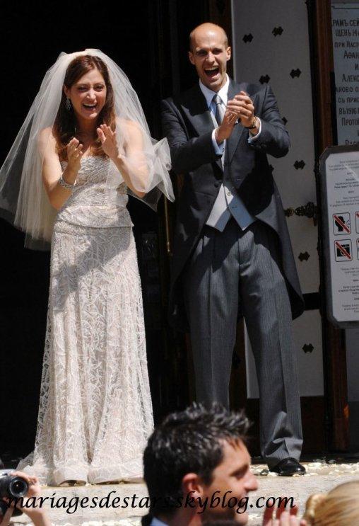 Sasha Alexander & Eduardo Ponti - Mariages de stars