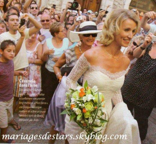 Alexandra lamy jean dujardin mariages de stars for Jean dujardin alexandra lamy bebe
