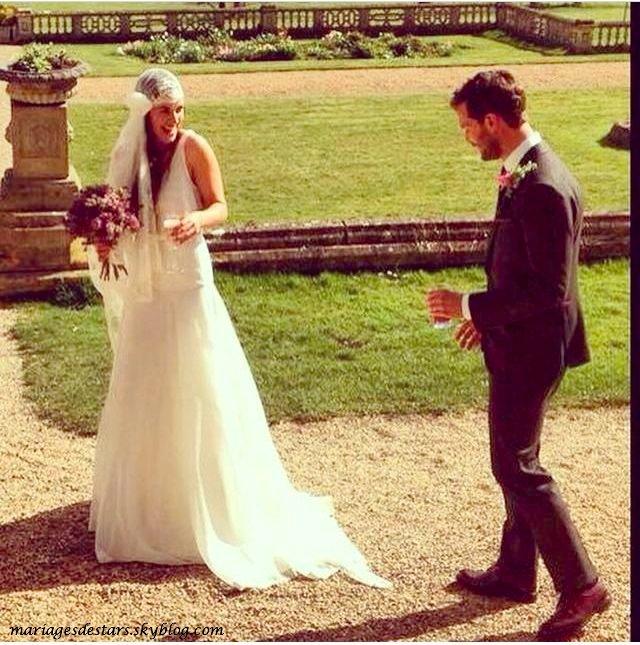 Jamie Dornan  sortie en famille avec Amelia Warner