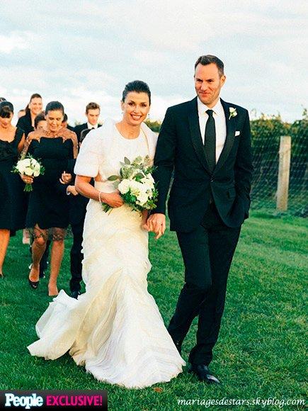 Bridget moynahan amp andrew frankel mariages de stars
