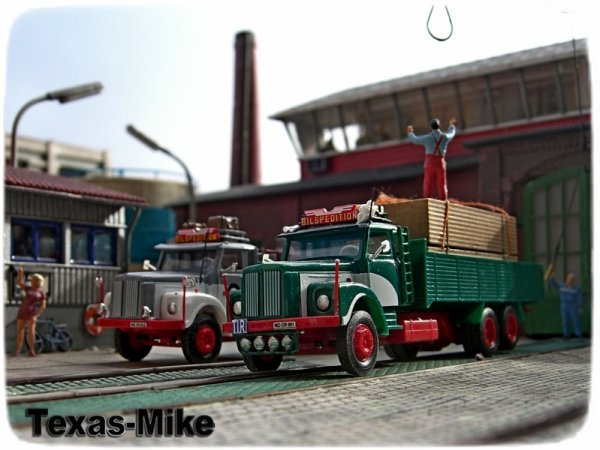 Epoche Scania LS 110 Bilspedition Stadthafen Recklinghausen