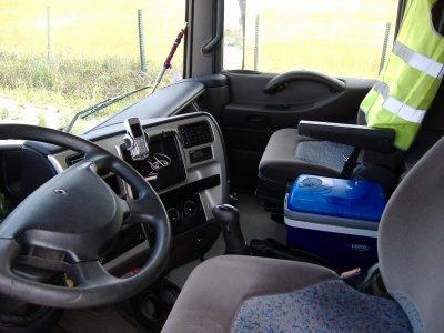 2 camion interieur avant & MBSA