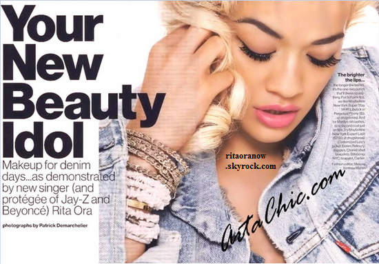 Rita Ora: Adorable pour Glamour Mag