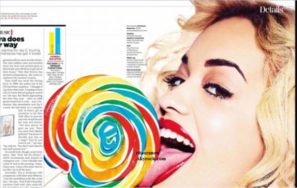 Rita Ora: Bombe pour le photoshoot du magazine anglais GQ