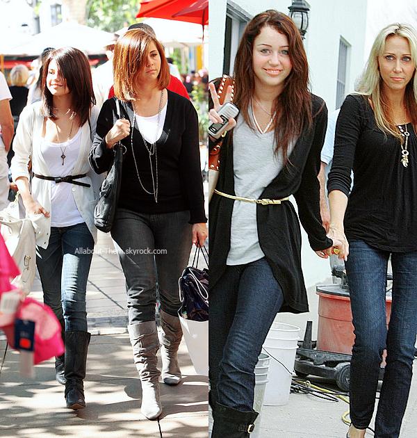 Jadore le style vestimentaire de Selena! Miley Cyrus.Ah oui ?_
