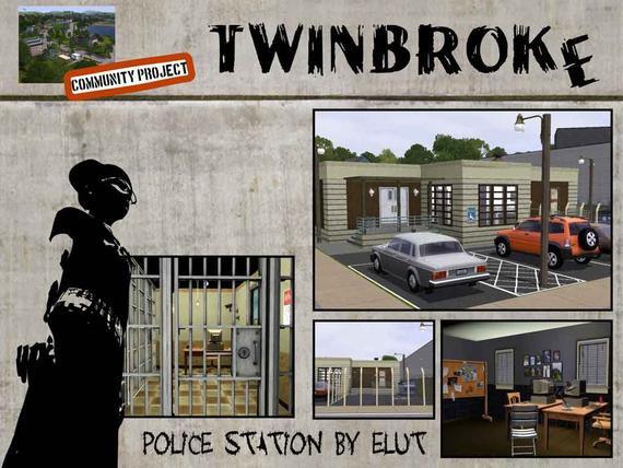 39 sims 3 39 bureau de police demande de alicam dorriink ta nouvelle source sur les. Black Bedroom Furniture Sets. Home Design Ideas