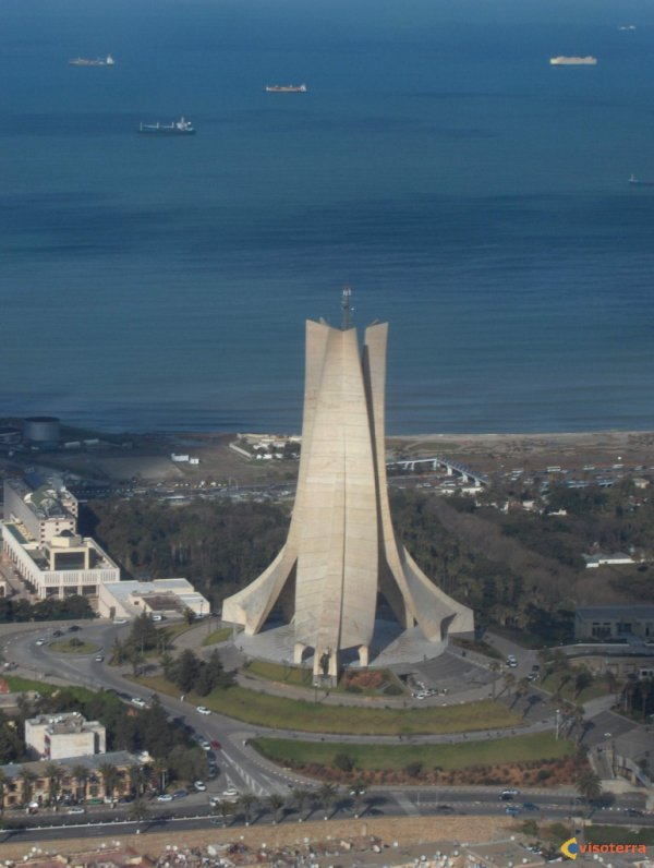 ALGER Sanctuaire des martyres الجزائر العاصمة  +100 Fans