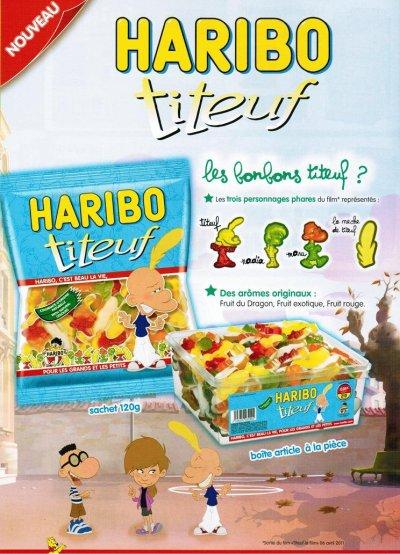 Titeuf Haribo