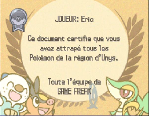 Pokémon Noire et Blanche