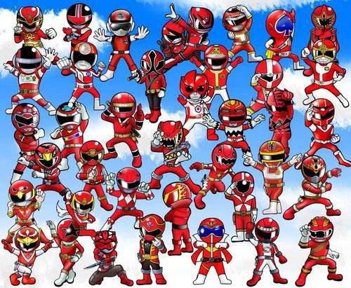 Forever Red  & Tokusatsu <3
