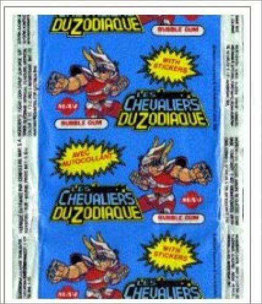 Chewing Gum : Chevalier Du Zodiaque [ Vintage ]