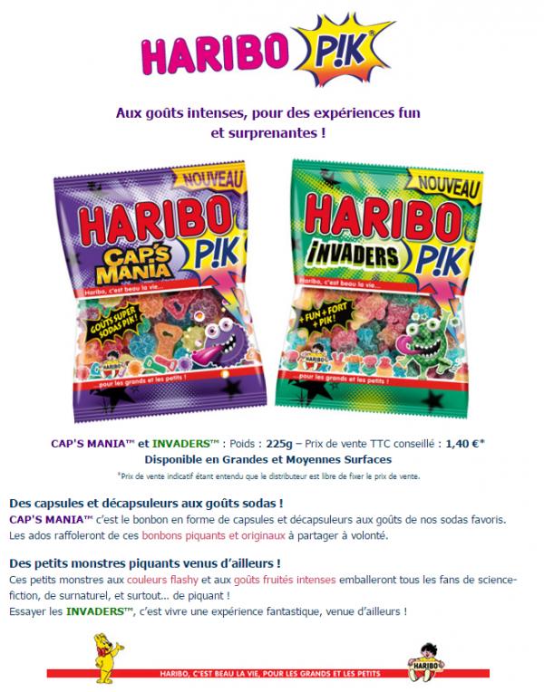 Haribo Pik : Cap's Mania & Invaders