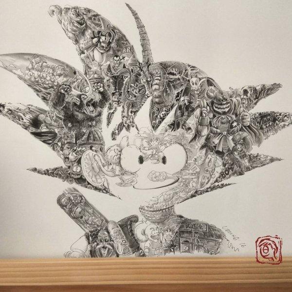 Un hommage �poustouflant � Dragon Ball