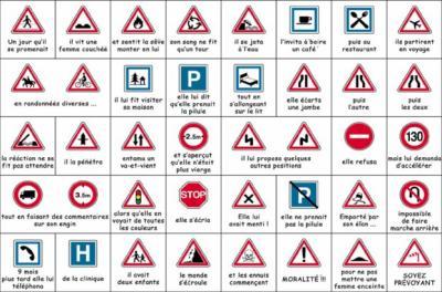 Apprendre les panneaux du code de la route
