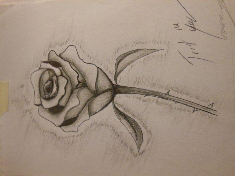 dessin dessiner par johan (un pion du collège) trop beau (le dessin) - moi ma vie