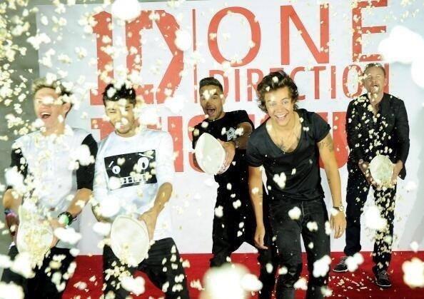 Les boys a leur conf�rence se matin pour 1D this is us ! :)