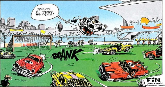 thought of this the first time i heard about rocket league spirou à