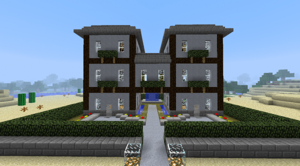 Mes plus belles construction dans minecraft le blog r f rence a minecraft - Construction minecraft maison ...