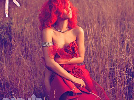 Rihanna, la pochette de son single
