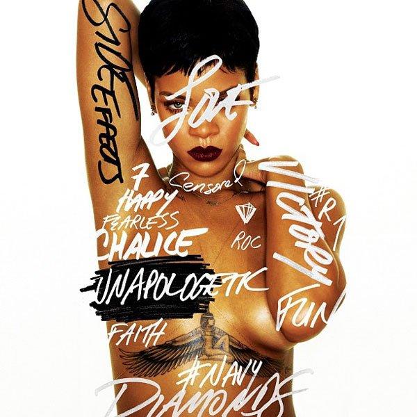 Rihanna d�voile sa cover d'album
