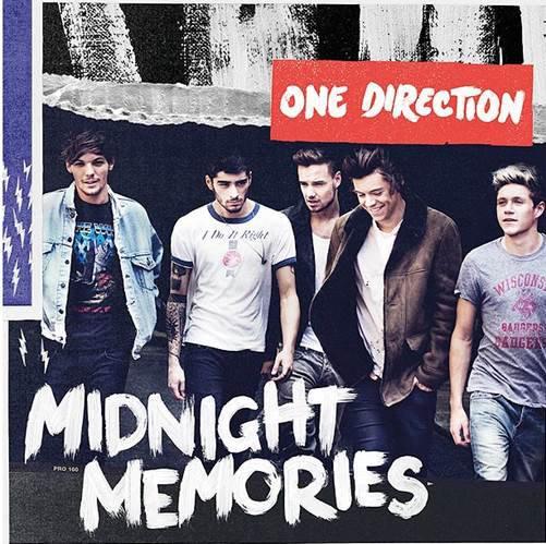One Direction, la pochette de Midnight Memories