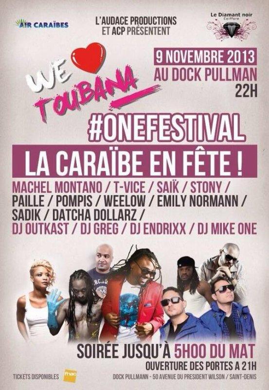 We love Toubana le 9 novembre